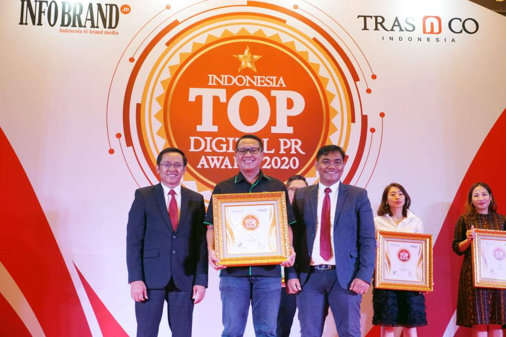 Tekiro Meraih Top Digital Public Relation Award 2020