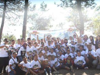Touring Komunitas Aerox 155 Chapter Tangerang Sekaligus Melantik Member Baru
