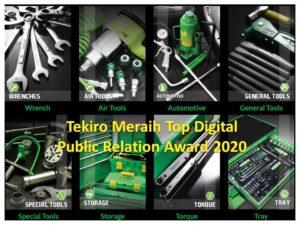 Tekiro Meraih Top Digital Public Relation Award 2020