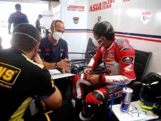 Mario-Suryo-Aji-Alami-Crash-dan-Tangan-Kirinya-Patah-di-Jerez