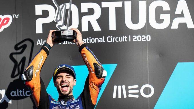 Hasil-MotoGP-Portugal -KTM-Miguel-Oliveira-Menang-Tidak-Bisa-Terkejar