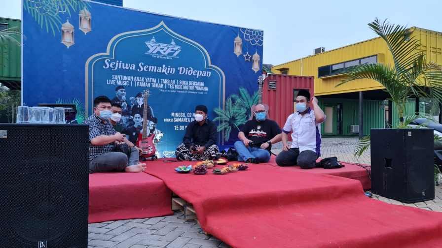 Baksos YRFI Tangerang Raya Dengan Tema Sejiwa Semakin Di Depan