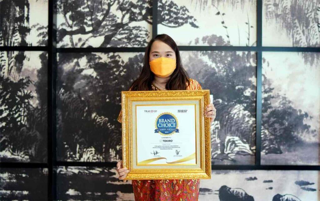 Tekiro Merek Perkakas otomotif Raih Brand Choice Award 2021 (2)