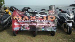 KOMUNITAS-MOTOR-NMAX-(MAX ID)-JAKARTA-SELATAN-MENYEMARAKKAN-HUT-RI-KE-76